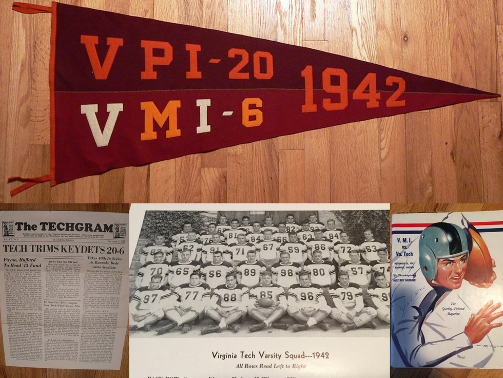1942 Victory over VMI