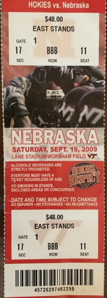 2009 vs Nebraska Last Minute Comeback