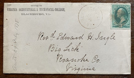 1878 VAMC Envelope