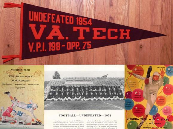 1954 Undefeated Season