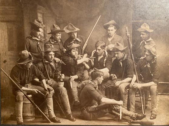 1906 VPI Boys up to no good