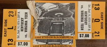 1974 vs Kentucky
