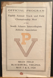 1920 Track & Field Program
