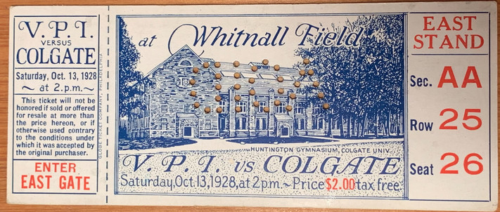 1928 vs Colgate