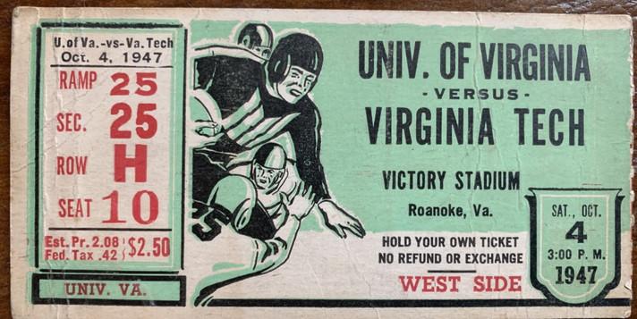1947 vs UVA