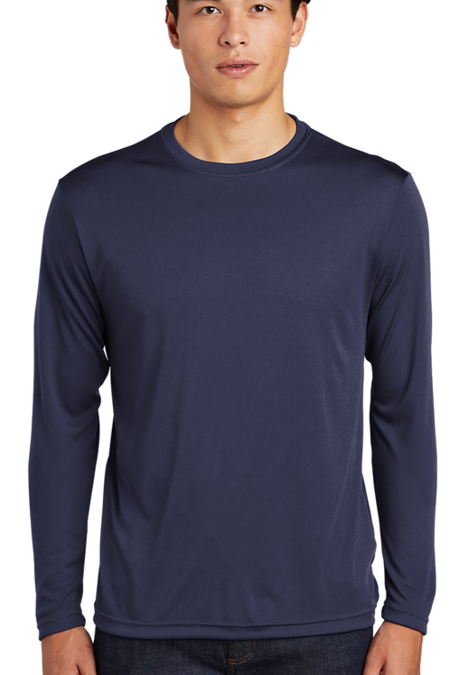 UNISEX DRI-FIT LONG SLEEVE SHIRT (WR logo will be applied)