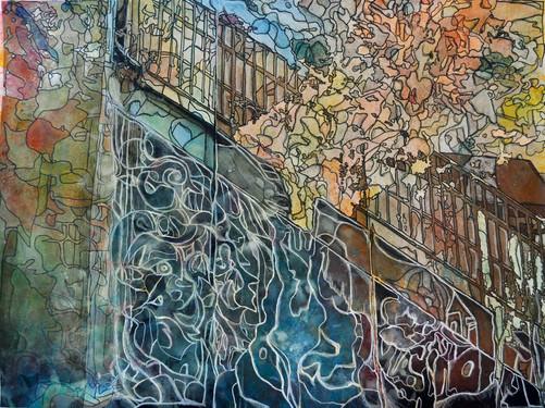 Sound Descending of a Staircase