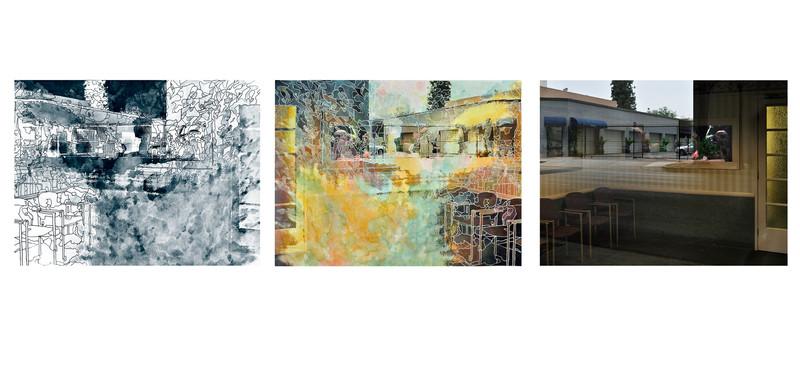 In Control of the Aquarium (Triptych)