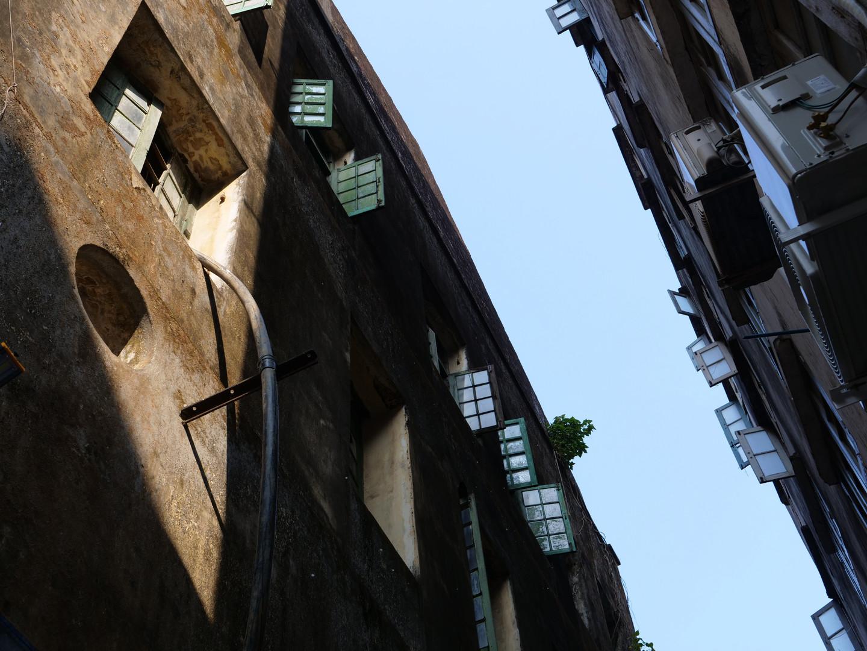 Backstreet alleyway