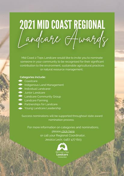 Mid Coast Regional Landcare Awards JPEG.