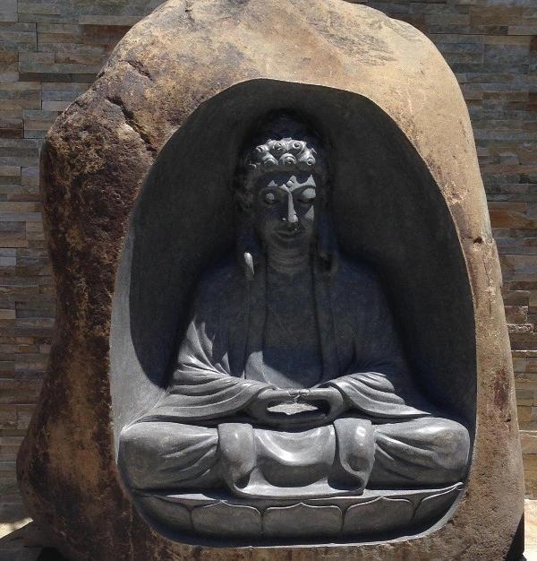 BUDDHA STONE STATUE