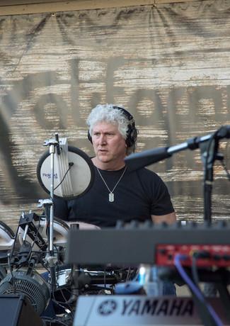 Jeff Playing Drums