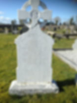 Connaught Property Services Cemetery Headstone Softwash After