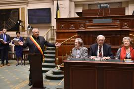 Visite du Parlement fédéral