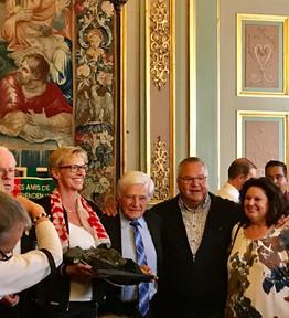 1er septembre 2018 - Remise officielle du costume franchimontois