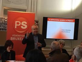 22 octobre 2016 - Colloque sur les dérives sectaires à Bruxelles