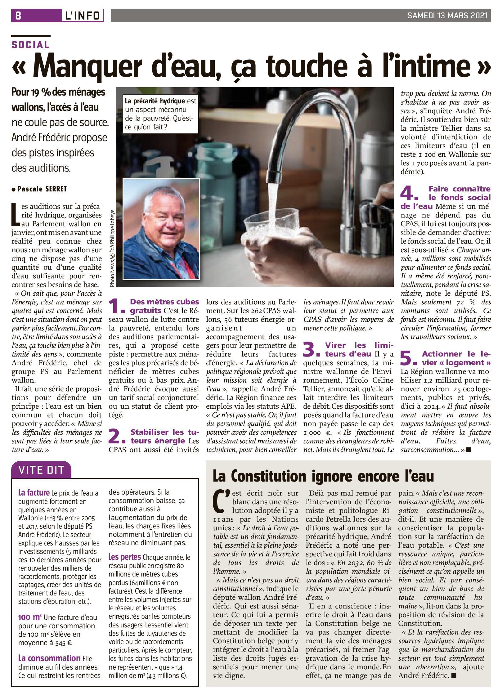 presse_du 13 03 2021 - L'Avenir