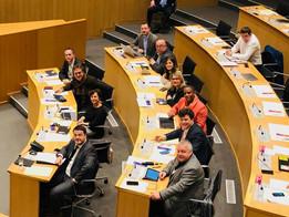 18 décembre 2019 - Au Parlement de la Fédération Wallonie-Bruxelles