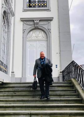 14 janvier 2020 visite au Collège communal de Verviers