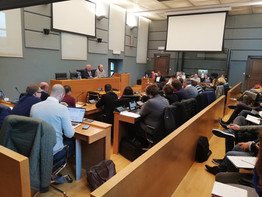 Au parlement wallon - Réunion groupe PS
