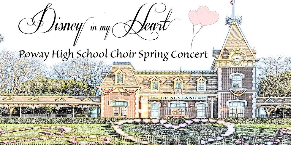 """Disney in my Heart"" Spring Concert-- Live Outdoor Singing!"