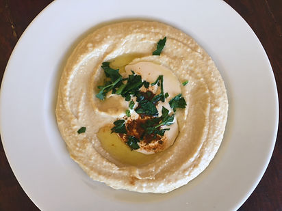 The Best homemade Humus of Ibiza