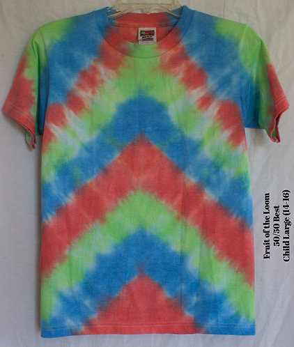 Childs Tie Dye Large Size