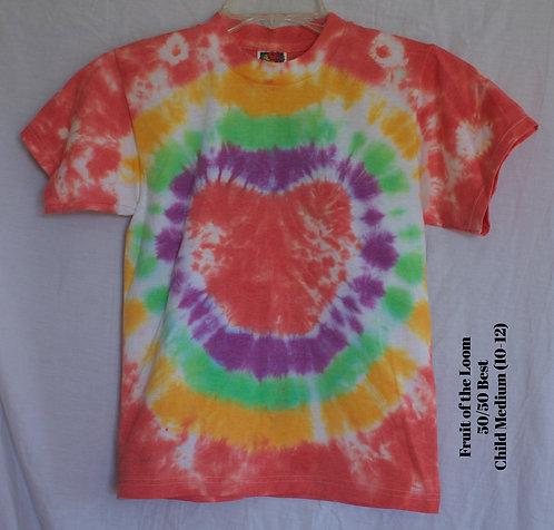 Child Medium Tie Dye T-Shirts
