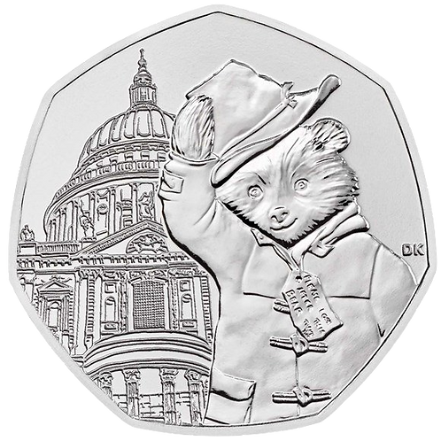 50 Pence Fifty Pence Paddington at St Pauls Cathedral 2019 - CIRCULATED