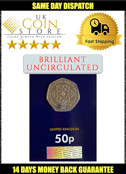 Brilliant Uncirculated 50 Pence Fifty Pence Girlguiding 2010 - BU