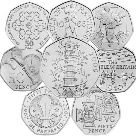 50 Pence - Essentials All Other Coins