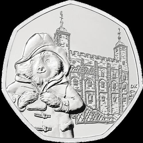 50 Pence Fifty Pence Paddington at Tower of London 2019 -