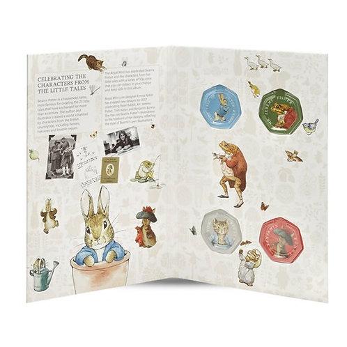 Beatrix Potter 50 Pence 2017 Album