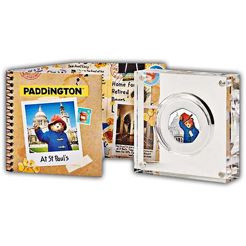 Paddington at St Paul's 2019 UK 50p Silver Proof Coin