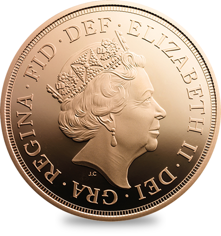 2p Two Pence Royal Shield 5th Portrait 2015 - Circulated