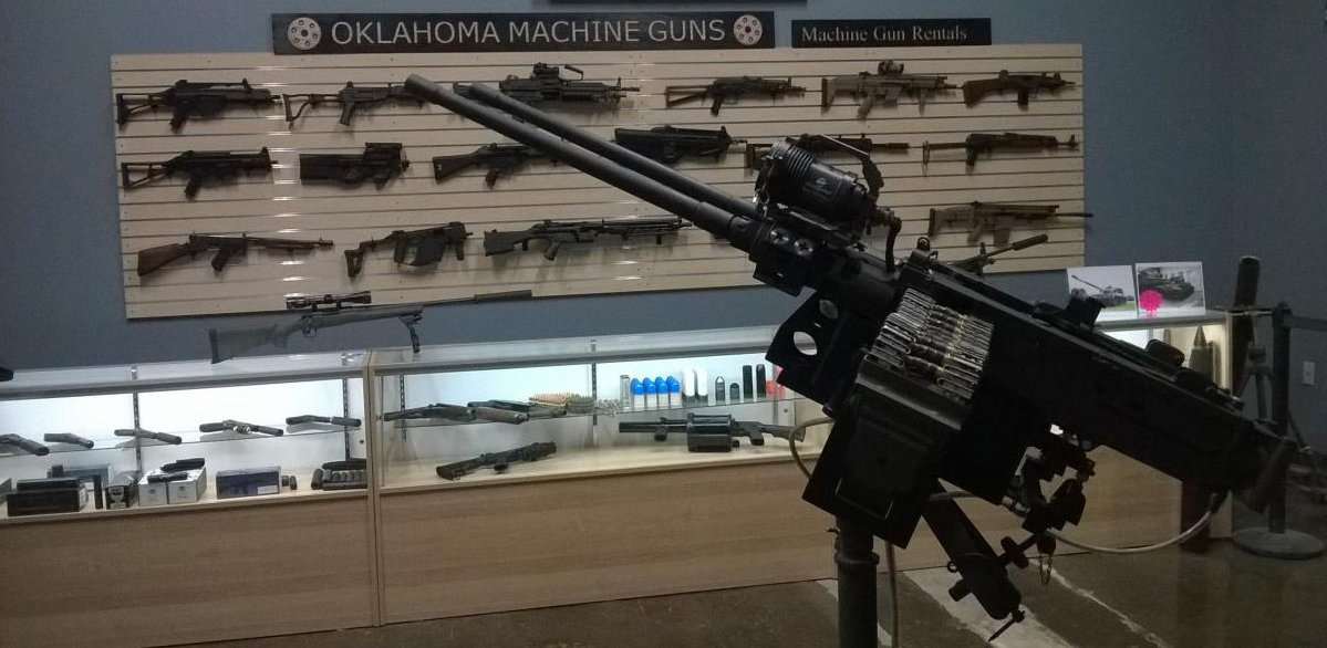 Oklahoma Machine Guns store