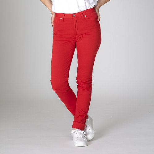 JEAN 254 COUPE SLIM ROUGE