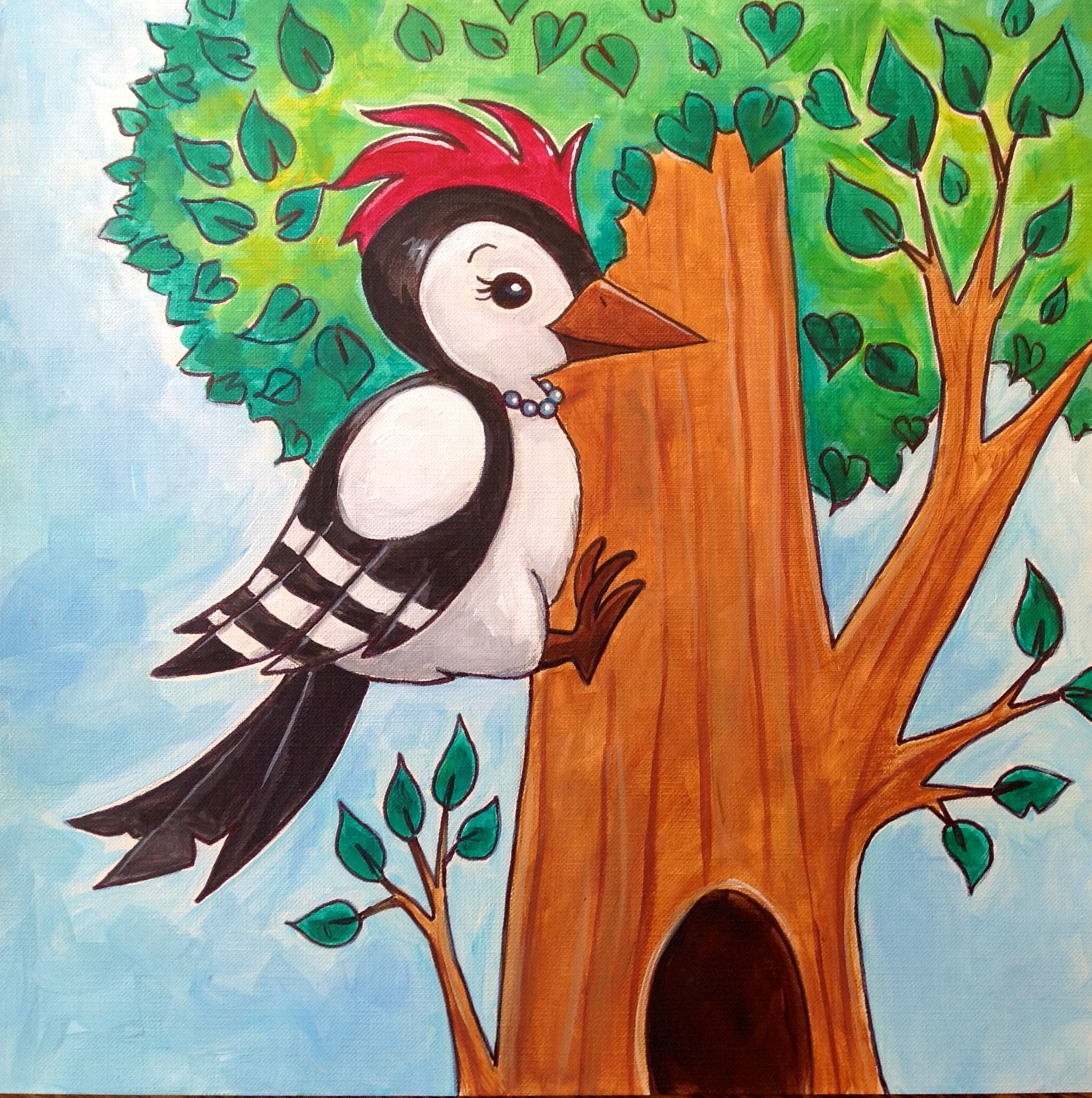 Shirley the Woodpecker