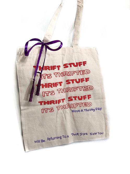 "Thrift ""thank you"" Bag"