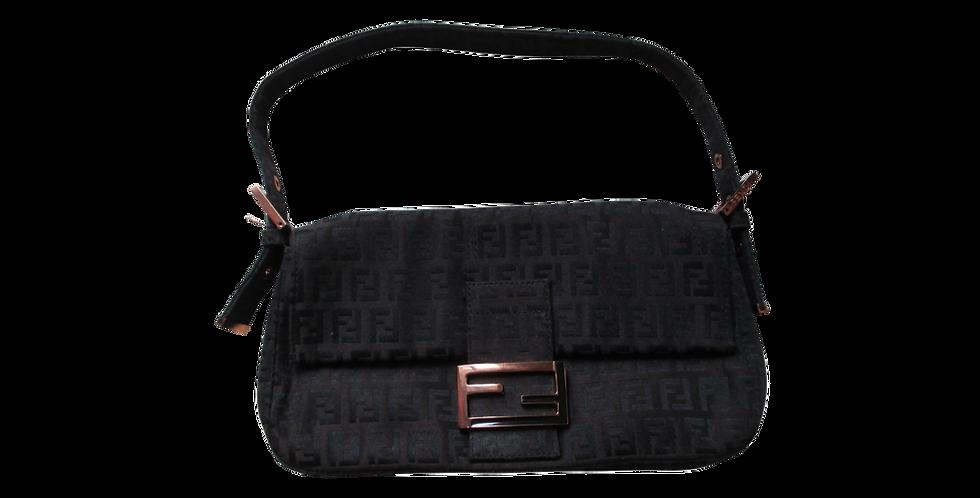 Fendi Linen Baguette Bag