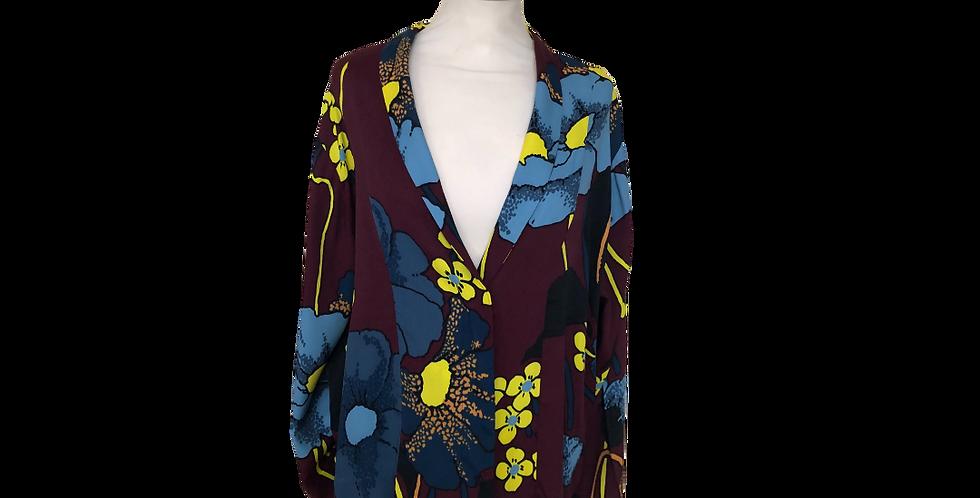 Marni printed viscose blouse