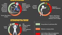🍴Supplements for Endurance, Strength/Size & Health: What May Really Work?