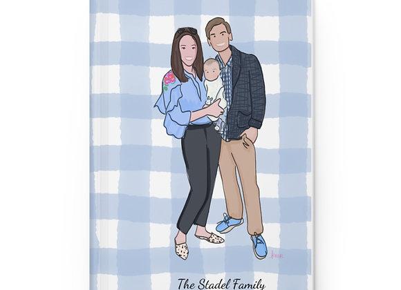 Hardcover Family Portrait Journal (Matte)
