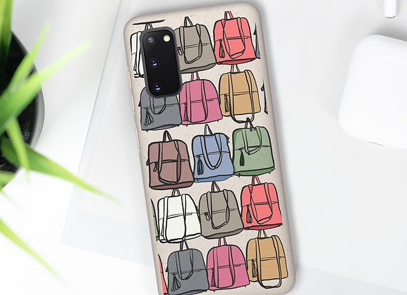Fashionista Purse Pattern Biodegradable Case