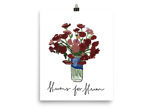 Mums for Mum Poster