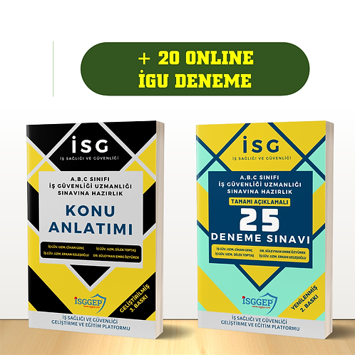 İGU SINAV KAZANDIRAN SET - 3