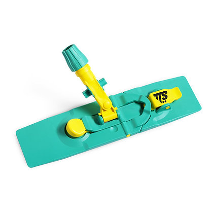 Рамка Blik фиксируемая с педалью и зажимом для мопов с карманами, 40 см