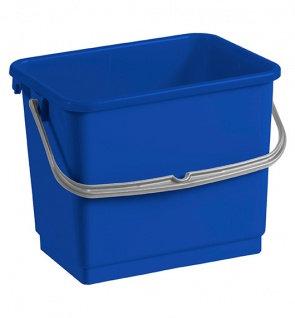Ведро пластиковое TTS 4 литра синее