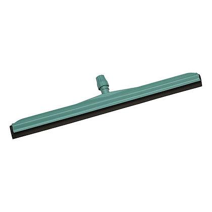 Сгон для пола пластиковый, зеленый с черной резинкой, 35 см