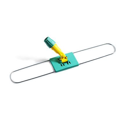 держатель мопов пластиковый с металлической рамкой, 60х9 см